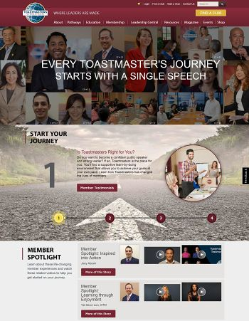 Toastmasters International Website