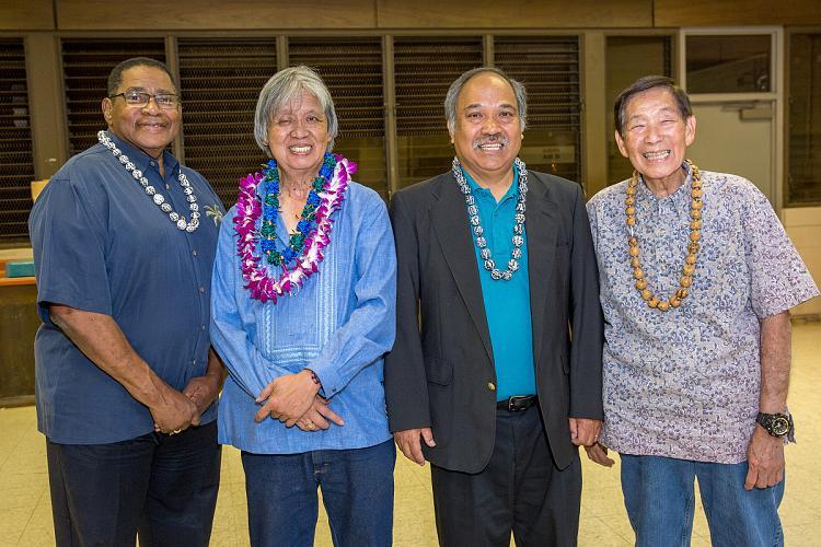 Willie Jones, Greg Ching, Primo Castro, David Tasaka